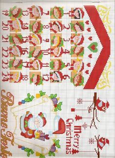 Cross Stitch *♥* Christmas Noël