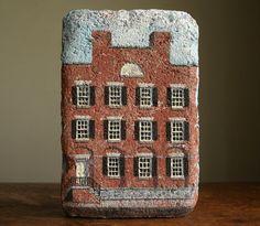 Pittsford N.Y. Phoenix building painted brick by blancoynegro, $87.00