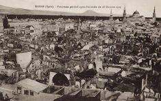 """إنها """"حريقة حي سيدي عمود"""" التي وقعت بتاريخ """"18/10/1925"""""""