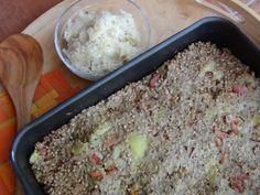 Kdo ho nezkusí nepozná, jak je kontrabáš skvělé jídlo. Tato valašská specialita bude z pekáčku mizet tak dlouho, až se bude blýskat čistotou :) Quinoa, Mashed Potatoes, Macaroni And Cheese, Grains, Rice, Vegetables, Ethnic Recipes, Kitchen, Diet