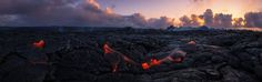 Morning Lava Spread by Tom Kualii