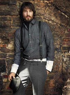 Le 31 Automne/Fall 2012 | La chemise prince de Galle trompe-l'oeil | Simons