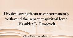 Franklin D. Roosevelt Quotes About Faith - 19061