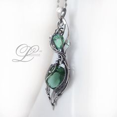 Awesome wire wrapped pendant