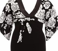 Dorothy Perkins Womens Jolie Moi Black Floral V Neck Belted Top- Black floral print V neck kimono top in stretchy fabric with 3/4 sleeve and black belt. Length 66cm 95% Polyester,5% Elastane. Machine Wash 30°C. http://www.comparestoreprices.co.uk/womens-clothes/dorothy-perkins-womens-jolie-moi-black-floral-v-neck-belted-top-.asp
