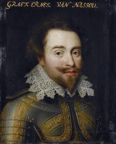 Workshop of Jan Antonisz. van Ravesteyn (circa 1572–1657) Portrait of Johan Ernst I (1582–1617), Count of Nassau-Siegen circa 1609-1633 Rijksmuseum Amsterdam