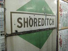 Shoreditch. | London's 27 Abandoned Tube Stations