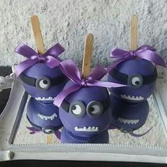 Maças Decoradas Minions