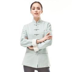 The chinese tang suit for women