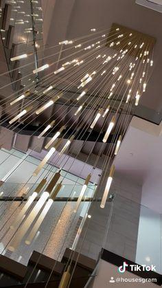 What do you think of this lighting? Home Stairs Design, Home Room Design, Dream Home Design, Modern House Design, Home Interior Design, Auto Gif, Diy Auto, Spanish Home Decor, Luxury Homes Dream Houses