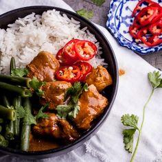 Coconut Chicken Curry with Cardamom Basmati Rice