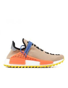 buy online 96fe5 f6ca6 Scarpa Adidas Nmd Hu Trailpale Nude Nere Gialle Popolare