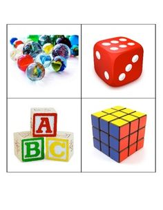 a set of picture cards for sorting shapes using real-world objects. Includes 5 picture cards each for the shapes sphere, cylinder, cube, cone, and prism. 2d And 3d Shapes, Shapes For Kids, Solid Shapes, Kindergarten Math Activities, Homeschool Math, Fun Math, Kindergarten Teachers, Maths, Teaching Shapes