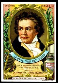 German issue, 1893. Ludwig Van Beethoven