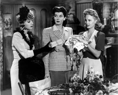 June Havoc, Rosalind Russell and Janet Blair - MY SISTER EILEEN