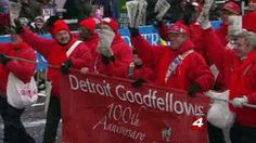 The Detroit Goodfellows are on the streets to raise money for Christmas gifts for needy children.