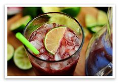 Homemade Cherry Limeade, Like What You Get at Sonic (1) From: She Wears Many Hats, please visit