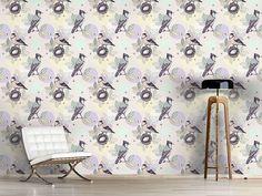 Design #Tapete Vogelnest