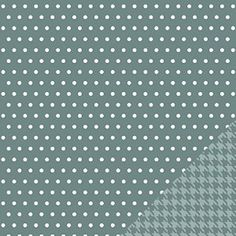 Pebbles Jen Hadfield Homemade Grey Whimsy 12x12 Scrapbook Paper