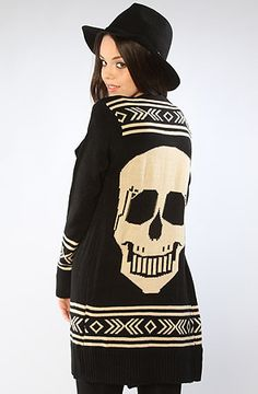 $55 *LA Boutique The Cult Cardigan : Karmaloop.com - Global Concrete Culture /// Bought this for myself, since it's getting cold out!