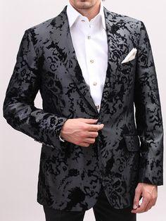 GORGEOUS!!!One Button Classic Billionaire Fit Jacquard Jacket