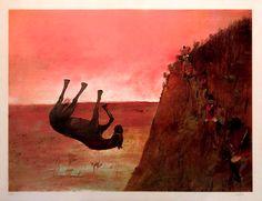 Sidney Nolan's Ned Kelly paintings , The slip Australian Painting, Australian Artists, Sidney Nolan, Victoria Art, Photo D Art, Creepy Art, Autumn Art, Cool Artwork, Cute Art