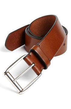 Allen+Edmonds+'Madison'+Leather+Belt+available+at+#Nordstrom