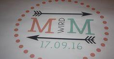 Aus M wird M - das war das Hochzeitsmotto (created bei Agentur Glückskonzepte ) dieser September-Hochzeit im Riessersee Hotel in Garmisch-P...