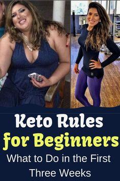 Rules for Beginners: The First Three Weeks Keto diet. You will find keto diet tips here.Keto Rules for Beginners: The First Three Weeks Keto diet. You will find keto diet tips here. Keto Diet Plan, Diet Meal Plans, Atkins Diet, Easy Keto Meal Plan, Keto Regime, Keto Flu, Starting Keto Diet, Start A Diet, Diet Food List