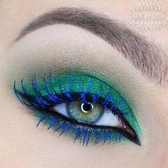 beautiful sugarpill midori with blue mascara