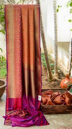 Looking for the best quality Latest Elegant Designer Indian Saree also products like Latest Elegant Sari plus Elegant Design Sari Blouse then you'll like this Click visit above for more options Kanjivaram Sarees Silk, Indian Silk Sarees, Tussar Silk Saree, Soft Silk Sarees, Brocade Saree, Ethnic Sarees, Kanchipuram Saree, Ikkat Saree, Bridal Silk Saree