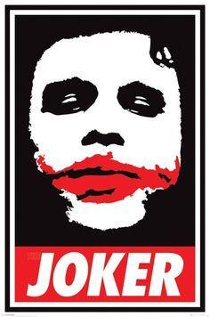 Batman The Dark Knight - Obey the Joker - Official Poster