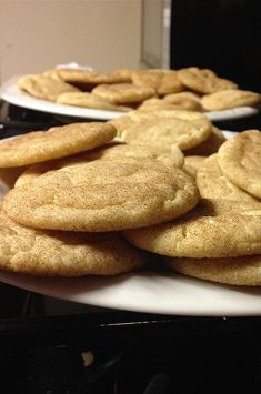 """Snickerdoodles I   """"Bravo, Linda - this recipe produces the PERFECT snickerdoodle cookie (...and I KNOW a good snickerdoodle when I taste it!)."""" #cookies #cookierecipes #bakingrecipes #dessertrecipes #cookieideas"""