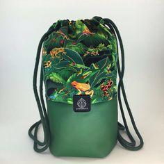 Kermit Bag 2016  eco-leather and fabric, handmade 26cm*36,5cm
