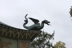 Dragon House in Park Sanssouci, What Is Internet, Dragon House, Year Of The Dragon, Fantasy Images, Light Table, Vacation Destinations, Art Forms, Places To See, Cool Pictures