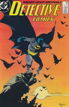 Classic cover by Mike Mignola from Detective Comics published by DC Comics, February Rare Comic Books, Batman Comic Books, Comic Book Artists, Comic Book Covers, Comic Books Art, I Am Batman, Superman, Batman Room, Dark Horse Comics