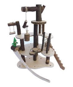 Tree Blocks Play Tree House | zulily