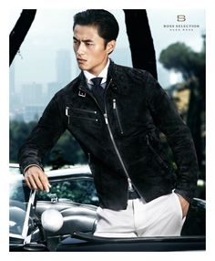 Zhao Lei by Stefan Armbruster for Hugo boss s/s 2012