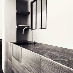 Kitchen by Benoît Viaene architecten I execution Deco-Lust