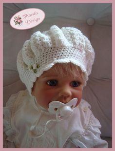 Mütze für Kinder/Ballon-Mütze/Baby-Mütze selber häkeln: Die süße Mütze zum selber Häkeln brauchst Du unbedingt für Dein Baby/Kleinkind. Probiers jetzt aus.ツ