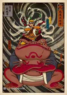 Narutos by XiaoBaoSG | Illustrious World | #Illustriousio