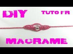 Tuto Bracelet Bohème en Macramé - YouTube