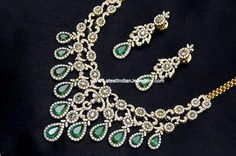 Stunning Unique Designer Indian Diamond Jewellery Sets Pearls And