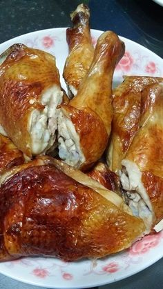 Singapore Home Cooks: Crispy Roasted Chicken by Margaret Goh #chinesefoodrecipes