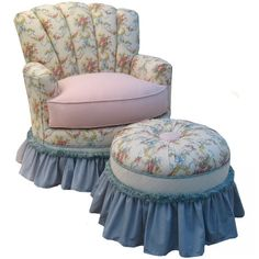 Angel Song Adult Princess Glider Rocker in English Bouquet - 201421108