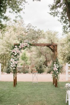 A Floral Wonderland of a Wedding at Brookview Ranch - Wedding Arch Wedding Arbors, Wedding Arch Flowers, Wedding Arch Rustic, Wedding Ceremony Arch, Wedding Ceremony Decorations, Wedding Flower Arrangements, Wedding Centerpieces, Wedding Archways, Wedding Ideas