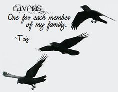 I love the idea that Veronica Roth had in Divergent when Tris got a tattoo to represent her family