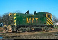 RailPictures.Net Photo: MKT 14 Missouri, Kansas & Texas Railroad (Katy) EMD SW9 at San Antonio, Texas by David Hawkins