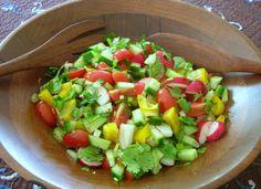 Fattoush: Lebanese Veggie Salad ♥