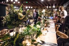 Vintage wedding table - reception details